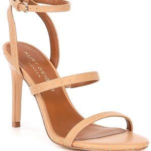Kurt Geiger London Portia Studded Leather Sandals